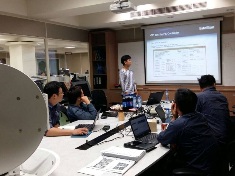 Intellian GX VSAT Training, Taiwan