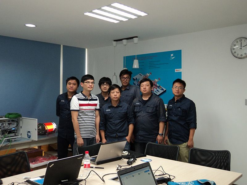 "Danelec Marine Technical Training at Seven Seas Marine "" Training Center "" Shanghai"